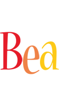 Bea birthday logo