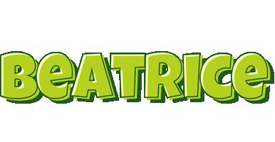 Beatrice summer logo