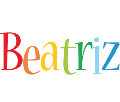 Beatriz birthday logo