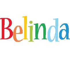 Belinda birthday logo
