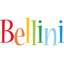 Bellini birthday logo