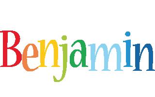 Benjamin birthday logo