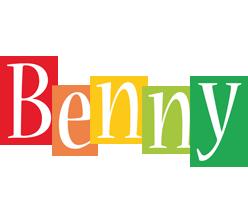 Benny colors logo