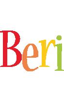 Beri birthday logo