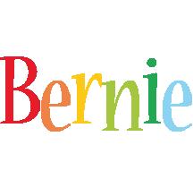 Bernie birthday logo