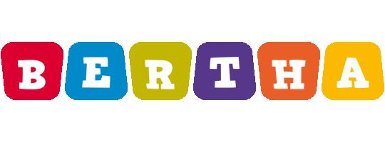 Bertha kiddo logo