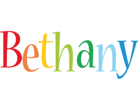 Bethany birthday logo
