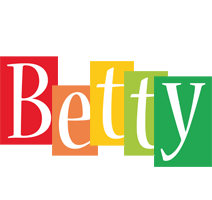 Betty colors logo