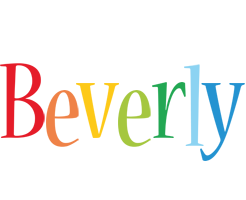 Beverly birthday logo