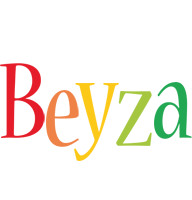 Beyza birthday logo