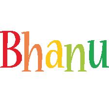 Bhanu birthday logo