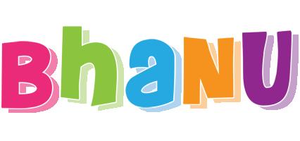 bhanu logo name logo generator kiddo i love colors style