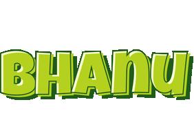 bhanu logo name logo generator smoothie summer