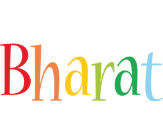 Bharat birthday logo