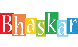 Bhaskar colors logo