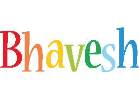 Bhavesh birthday logo