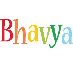 Bhavya birthday logo