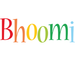Bhoomi birthday logo