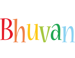 Bhuvan birthday logo