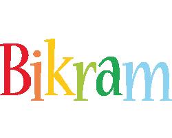 Bikram birthday logo