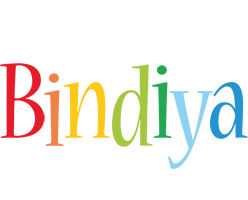 Bindiya birthday logo