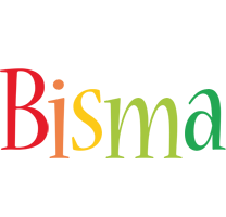 Bisma birthday logo