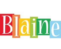 Blaine colors logo
