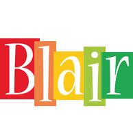 Blair colors logo