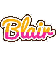 Blair smoothie logo