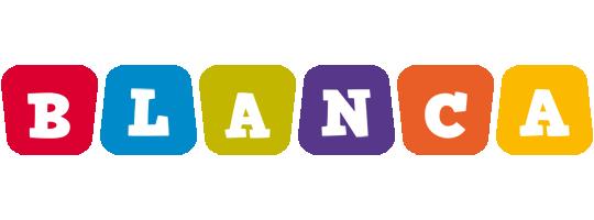 Blanca kiddo logo