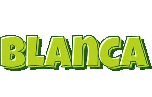 Blanca summer logo