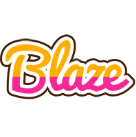 Blaze smoothie logo