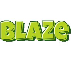 Blaze summer logo
