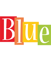 Blue colors logo