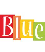 Blue colors logo