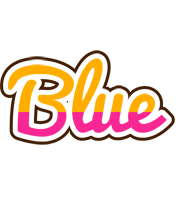 Blue smoothie logo