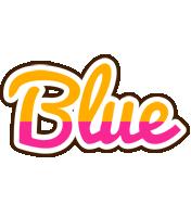 Blue smoothie logo