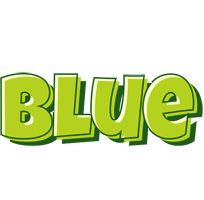 Blue summer logo