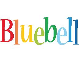Bluebell birthday logo