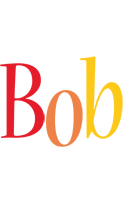 Bob birthday logo