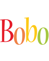 Bobo birthday logo