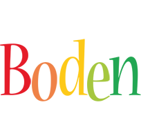 Boden birthday logo