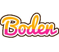 Boden smoothie logo