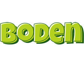 Boden summer logo