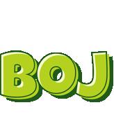 Boj summer logo