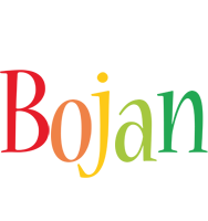 Bojan birthday logo