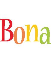 Bona birthday logo