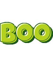 Boo summer logo