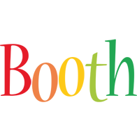 Booth birthday logo
