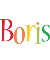 Boris birthday logo